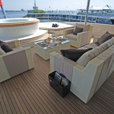 Tatiana I Yacht Jacuzzi Seating