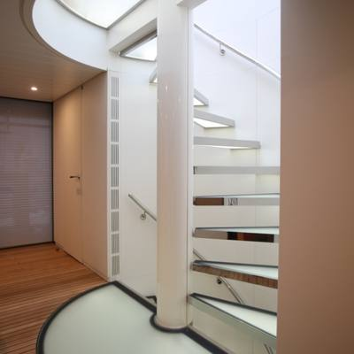 Ocean Sapphire Yacht Interior Stairs