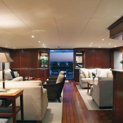Asteria Yacht Salon - Aft View