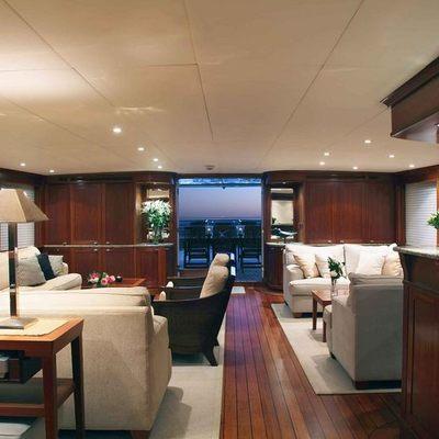 Asteria Yacht Salon - Aft View