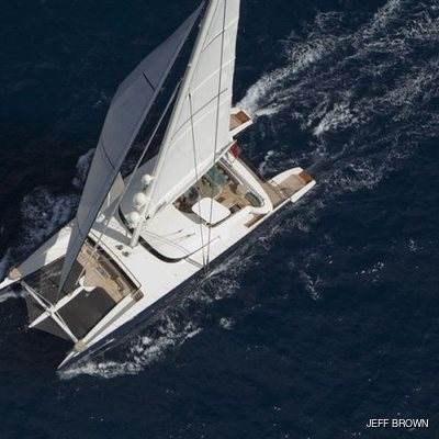 Hemisphere Yacht Running Shot