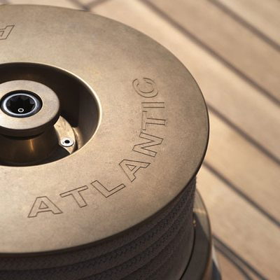Atlantic Yacht Detail - Capstan