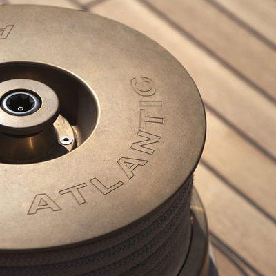 Atlantic Yacht Detail - Capstan