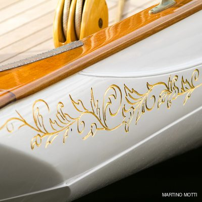 Lulworth Yacht Exterior Detail