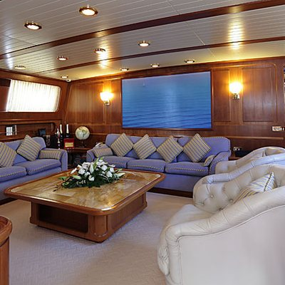Principessa Vaivia Yacht Main Salon