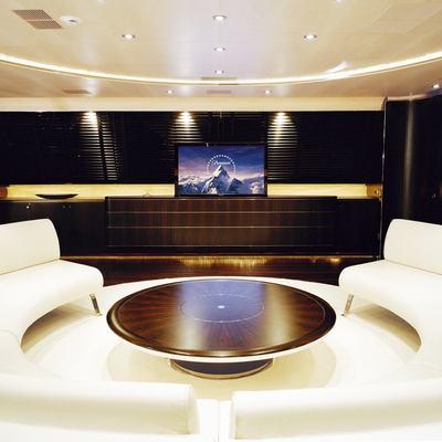 Parsifal III Yacht Salon - Screen