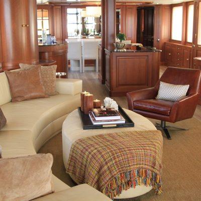 Brunello Yacht Main Saloon