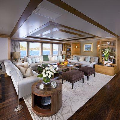 Lady Britt Yacht Main Salon