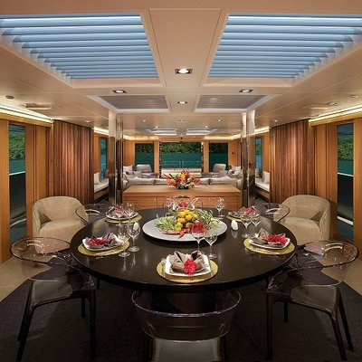 Big Fish Yacht Dining Salon