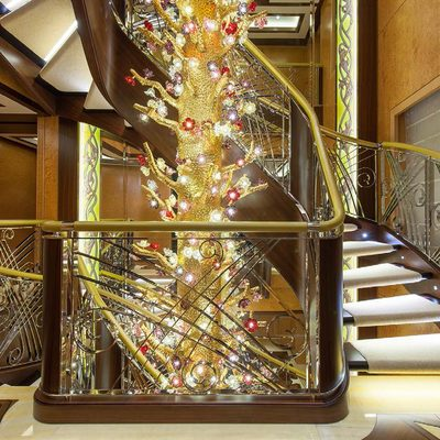 Solandge Yacht Staircase