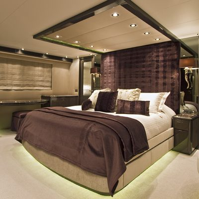Strega Yacht Master Stateroom