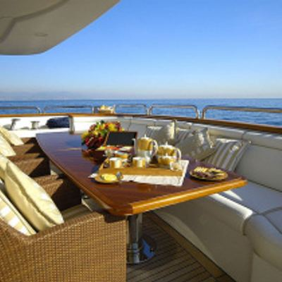 Aura Yacht Aft deck
