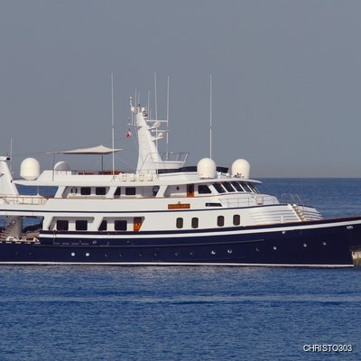 Atlantic Goose Yacht Side View