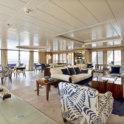 Force Blue Yacht Upper Salon