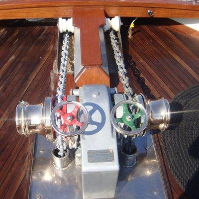 Gem Yacht Deck Detail