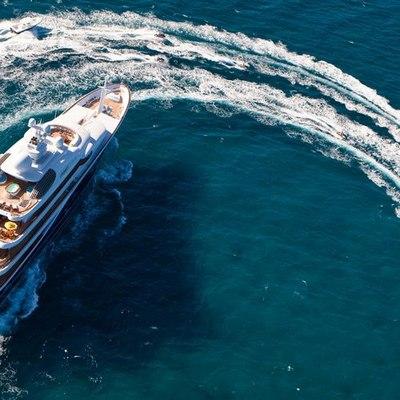Aquila Yacht Aerial View - Tender
