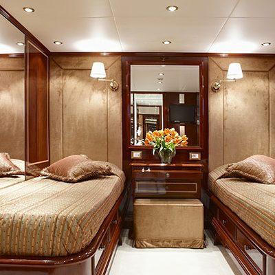 Iraklis L Yacht Twin Stateroom