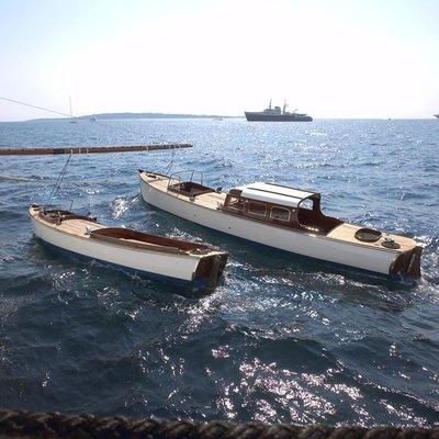 SS Delphine Yacht Tenders