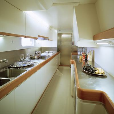 Viriella Yacht Galley
