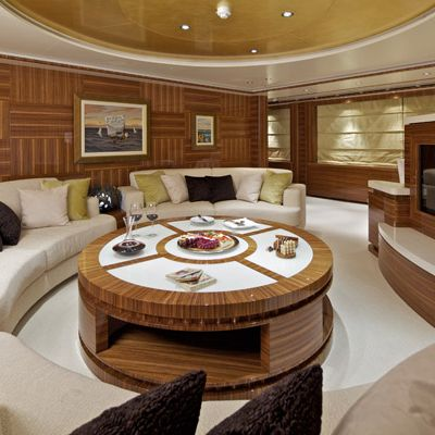 Mia Rama Yacht Upper Salon