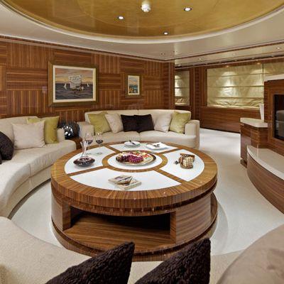 Mia Rama Yacht Upper Salon