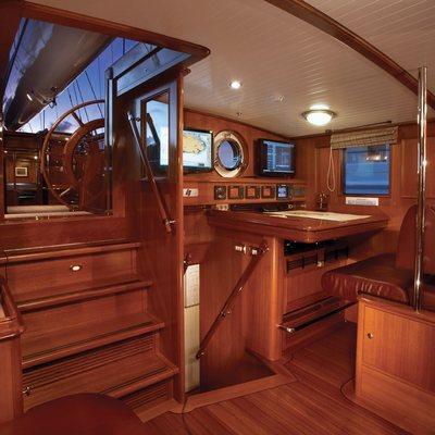 Meteor Yacht Aft Deckhouse