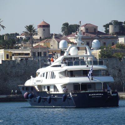 Alexandra Yacht Stern