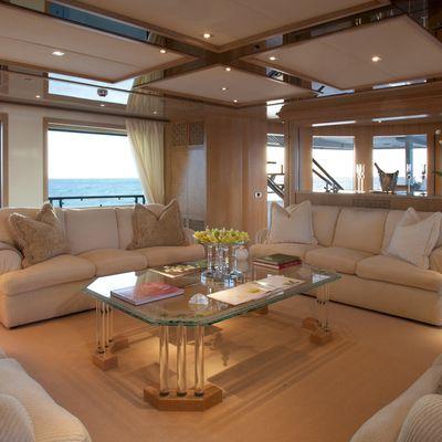 Sunrise Yacht Main Saloon
