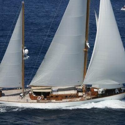 Tiziana Yacht Running Shot
