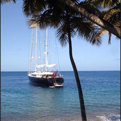 Parsifal III Yacht At Anchor