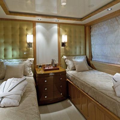 Mia Rama Yacht Second Twin Stateroom