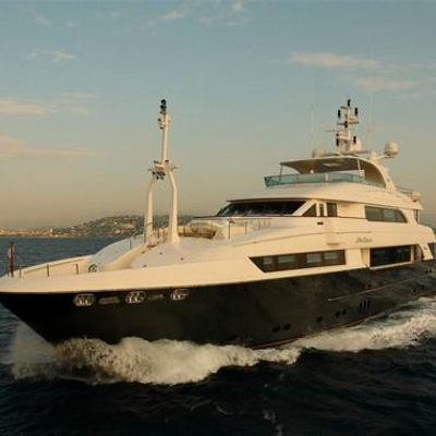 Lady Leila Yacht Running Shot