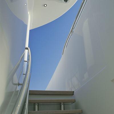 Siren Yacht Staircase