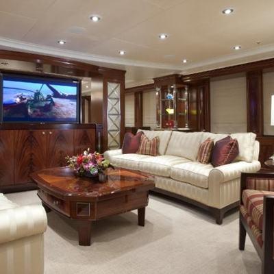 Avalon Yacht Main Salon - Overview