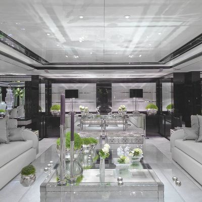Silver Angel Yacht Interior Seating - Overview