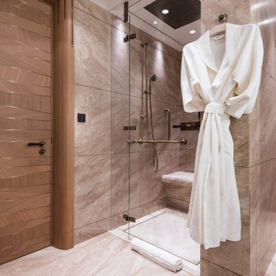 Here Comes The Sun Yacht Master Shower Area