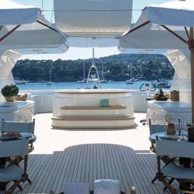 Mercury Yacht Jacuzzi & Seating