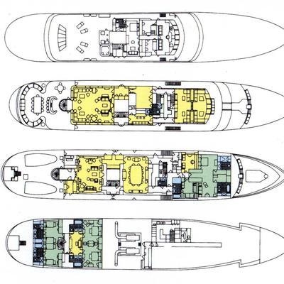 Virginian Yacht Deck Plans