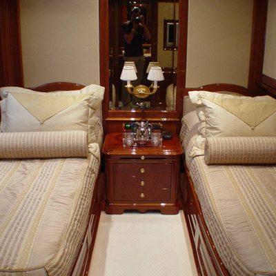 Aura Yacht Twin Stateroom