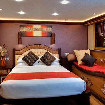 Dhaainkan'baa Yacht Guest Stateroom - Overview