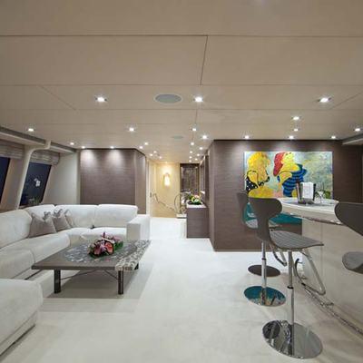 Daloli Yacht Upper Salon & Bar