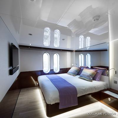 Enigma XK Yacht Guest cabin 2