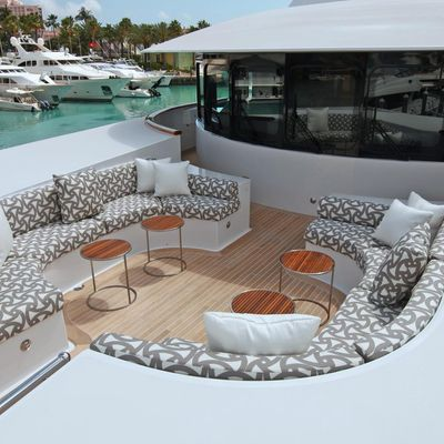 Carpe Diem Yacht Portuguese Bridge Seating