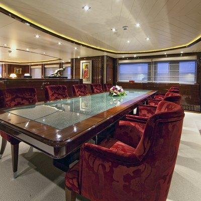 Vertigo Yacht Dining Salon