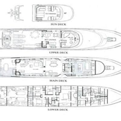 Murphy's Law Yacht Deck Plans