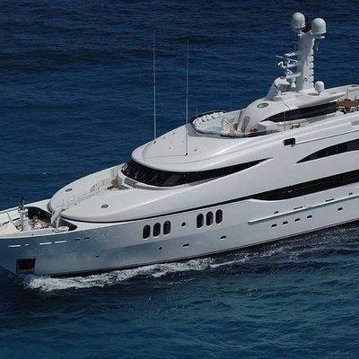 Diamond Yacht Aerial View