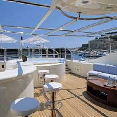 Jo Yacht Sun deck