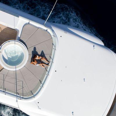 Spirit Yacht Aerial View - Deck