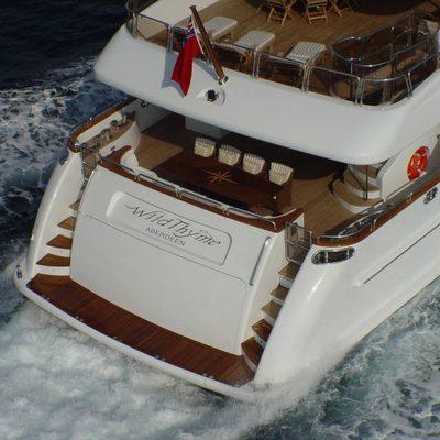 Aura Yacht Stern