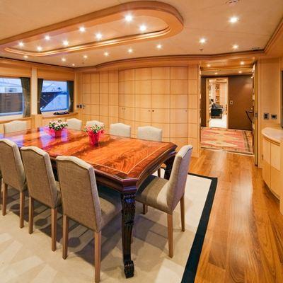 Golden Horn Yacht Dining - Forward View
